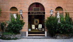 Galleria W. Apolloni, ingresso via Margutta 53b, Roma