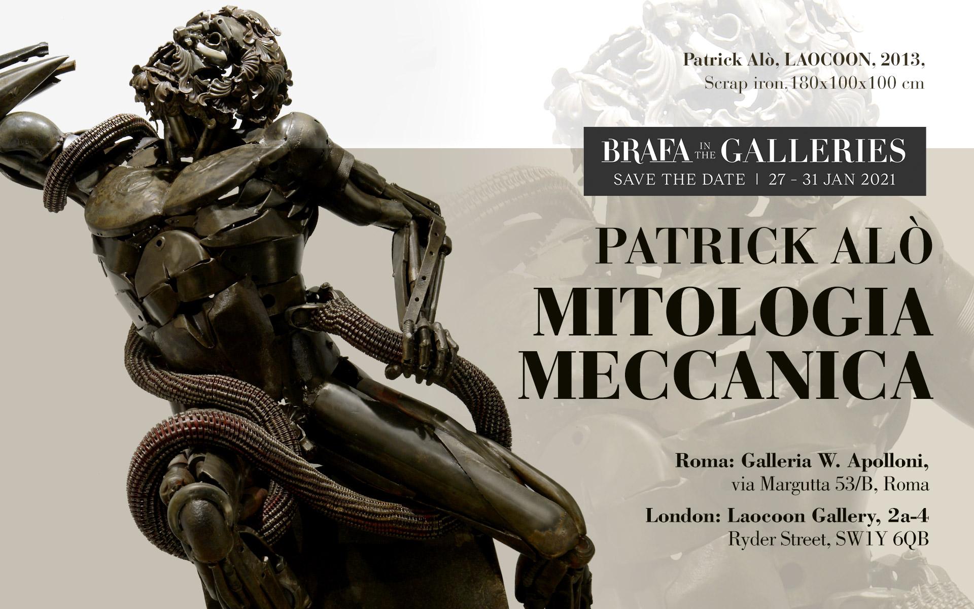 Patrick Alò, Mitologia Meccanica. BRAFA in the Galleries 2021